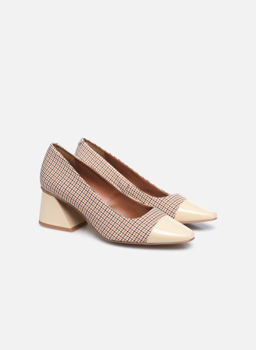 Zapatos de tacón Made by SARENZA Classic Mix Escarpins #3 Beige vistra trasera