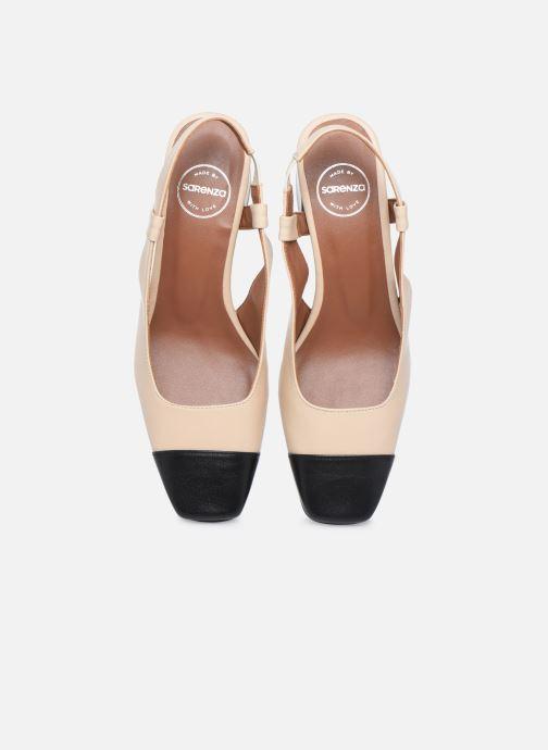 Escarpins Made by SARENZA Classic Mix Escarpins #4 Beige vue portées chaussures