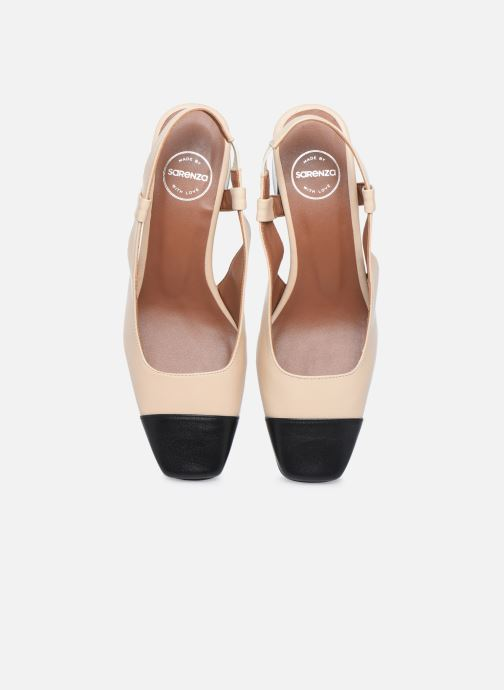 Zapatos de tacón Made by SARENZA Classic Mix Escarpins #4 Beige vista del modelo
