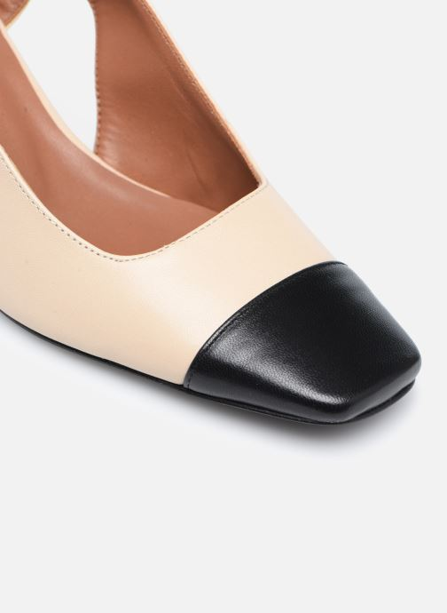 Zapatos de tacón Made by SARENZA Classic Mix Escarpins #4 Beige vista lateral izquierda