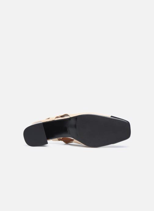 Zapatos de tacón Made by SARENZA Classic Mix Escarpins #4 Beige vista de arriba