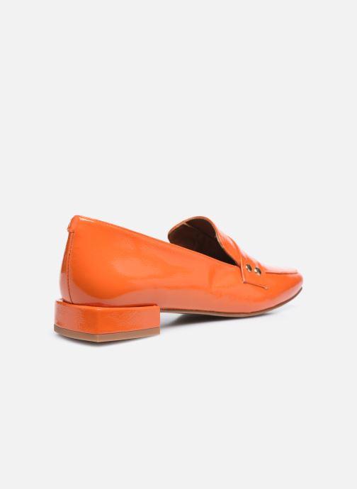 Slipper Made by SARENZA Classic Mix Mocassins #2 orange ansicht von vorne