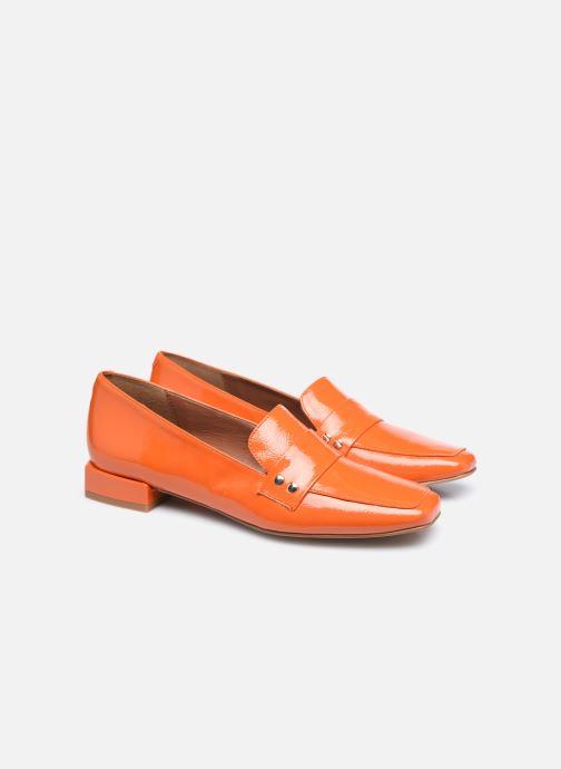 Slipper Made by SARENZA Classic Mix Mocassins #2 orange ansicht von hinten