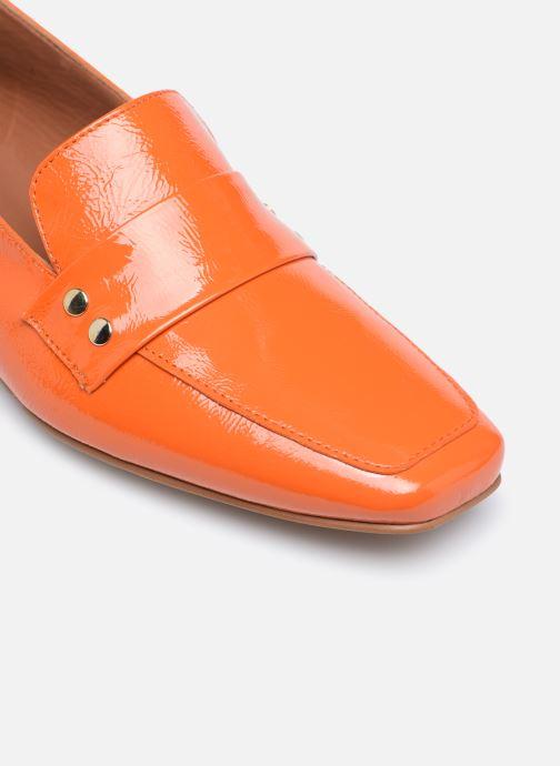 Slipper Made by SARENZA Classic Mix Mocassins #2 orange ansicht von links