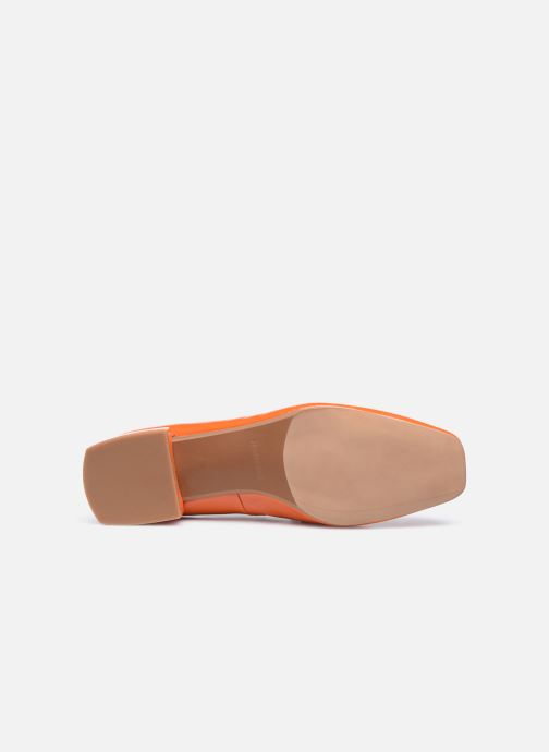 Slipper Made by SARENZA Classic Mix Mocassins #2 orange ansicht von oben