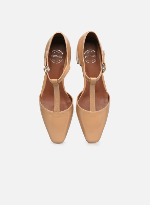 Bailarinas Made by SARENZA Classic Mix Ballerines #1 Beige vista del modelo