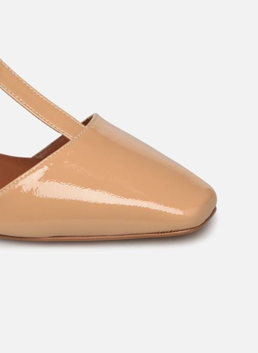 Bailarinas Made by SARENZA Classic Mix Ballerines #1 Beige vistra trasera