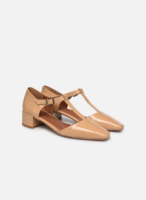 Bailarinas Made by SARENZA Classic Mix Ballerines #1 Beige vista lateral izquierda