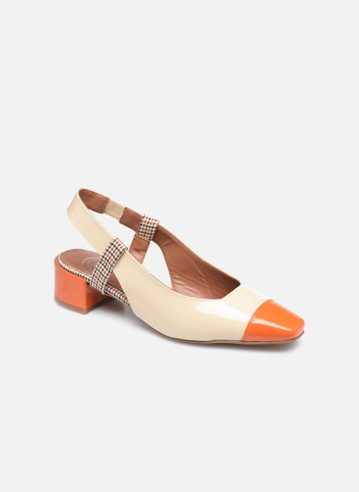 Ballerines Made by SARENZA Classic Mix Ballerines #2 Beige vue droite