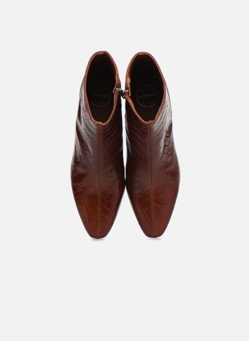 Stiefeletten & Boots Made by SARENZA Classic Mix Boots #12 braun schuhe getragen