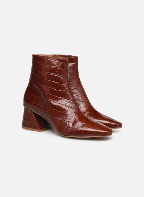Stiefeletten & Boots Made by SARENZA Classic Mix Boots #12 braun ansicht von hinten