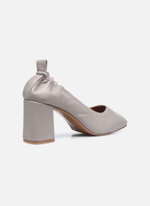 Zapatos de tacón Made by SARENZA Urban Smooth Escarpins #1 Gris vista de frente