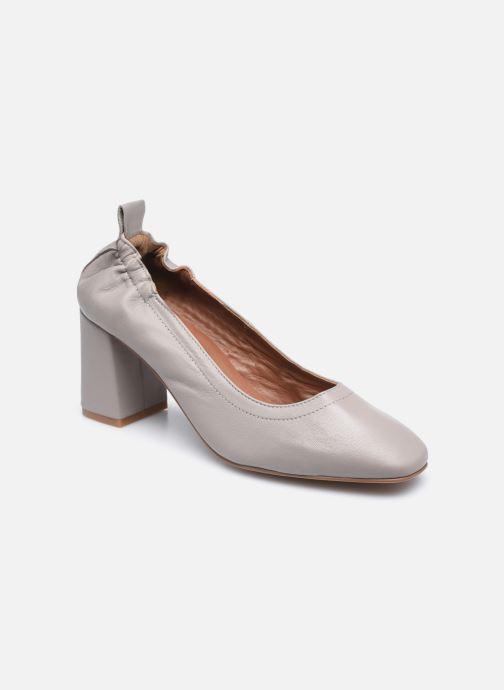 Zapatos de tacón Made by SARENZA Urban Smooth Escarpins #1 Gris vista lateral derecha