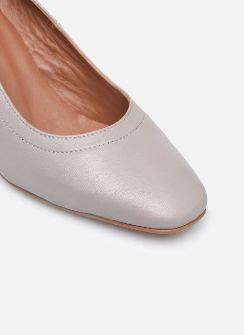 Zapatos de tacón Made by SARENZA Urban Smooth Escarpins #1 Gris vista lateral izquierda