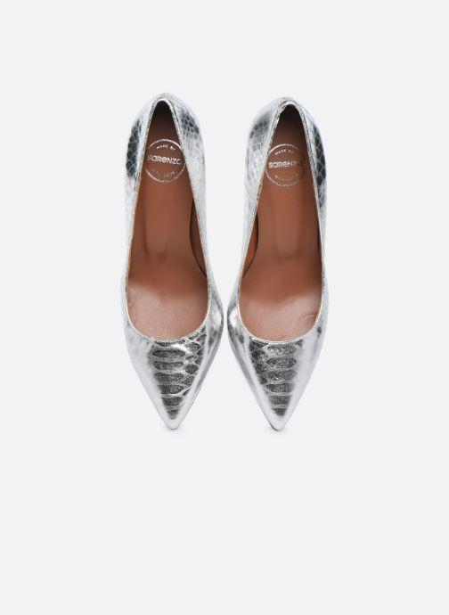 Escarpins Made by SARENZA Urban Smooth Escarpins #3 Argent vue portées chaussures
