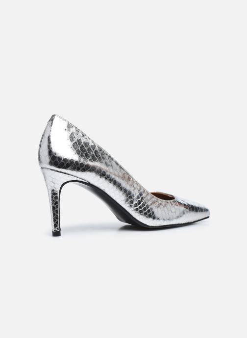 Zapatos de tacón Made by SARENZA Urban Smooth Escarpins #3 Plateado vista de frente