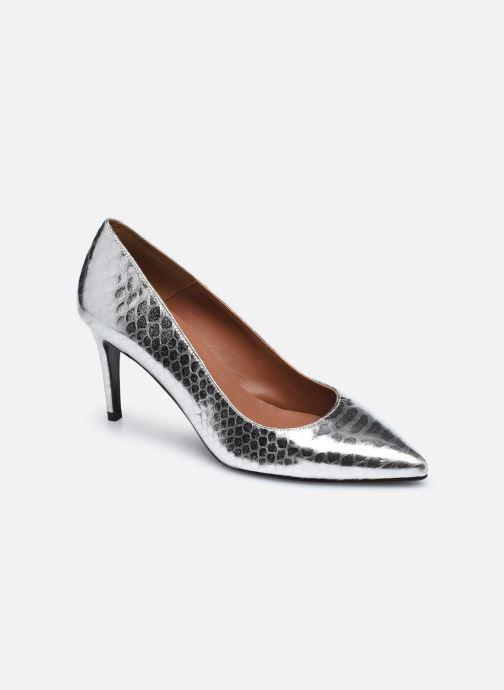 Zapatos de tacón Made by SARENZA Urban Smooth Escarpins #3 Plateado vista lateral derecha