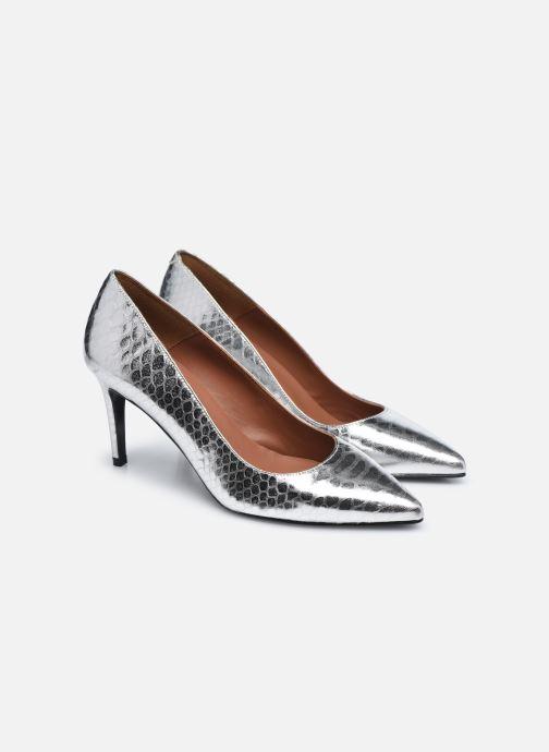 Zapatos de tacón Made by SARENZA Urban Smooth Escarpins #3 Plateado vistra trasera