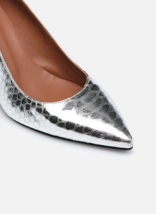 Zapatos de tacón Made by SARENZA Urban Smooth Escarpins #3 Plateado vista lateral izquierda