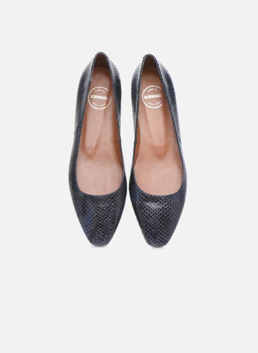 Ballerines Made by SARENZA Electric Feminity Ballerines #1 Bleu vue portées chaussures