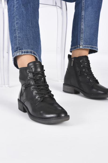 Bottines et boots Tamaris Rossa Noir vue bas / vue portée sac