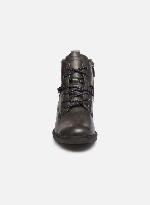 Bottines et boots Tamaris Rossa Gris vue portées chaussures