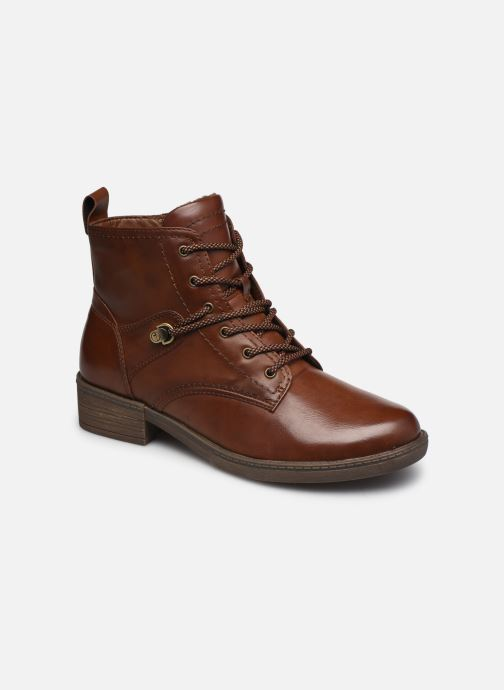 Ankelstøvler Tamaris Rossa Brun detaljeret billede af skoene