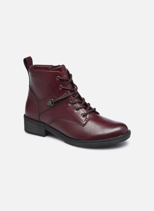Bottines et boots Tamaris Rossa Bordeaux vue détail/paire