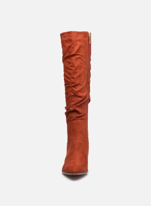 Bottes Tamaris Alyne Rouge vue portées chaussures
