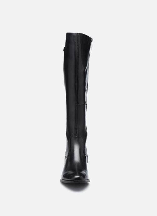 Bottes Tamaris Odelia Noir vue portées chaussures
