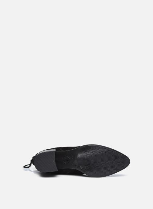 Stiefel Tamaris Kimya schwarz ansicht von oben