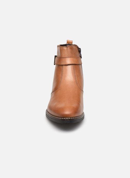 Bottines et boots Tamaris Eléa Marron vue portées chaussures