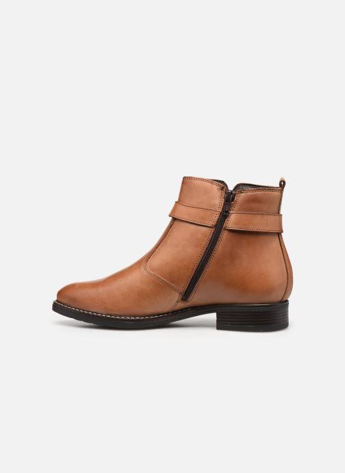 Stiefeletten & Boots Tamaris Eléa braun ansicht von vorne