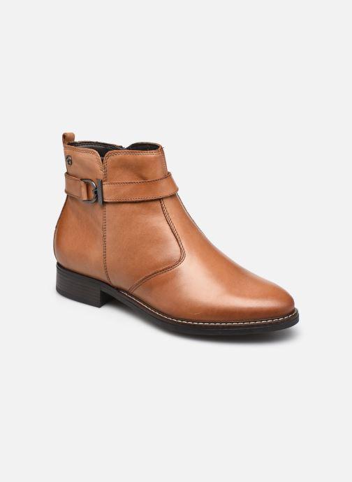 Bottines et boots Tamaris Eléa Marron vue détail/paire