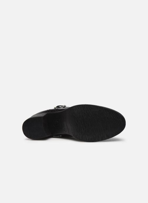 Stiefeletten & Boots Tamaris Tessa schwarz ansicht von oben