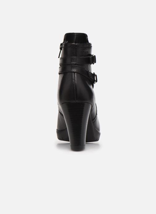 Stiefeletten & Boots Tamaris Nevan schwarz ansicht von rechts