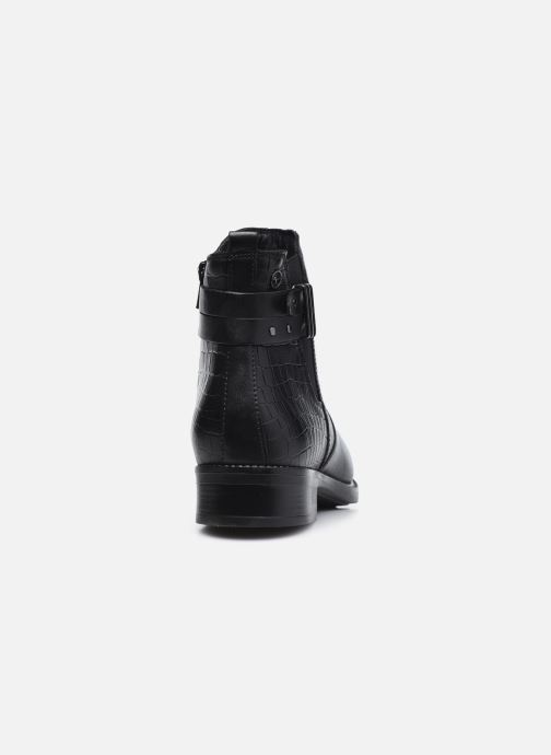 Bottines et boots Tamaris Gloria Noir vue droite