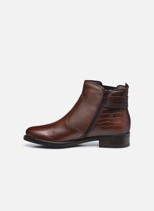 Bottines et boots Tamaris Gloria Marron vue face