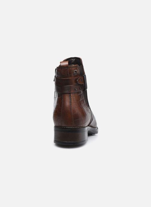 Bottines et boots Tamaris Gloria Marron vue droite