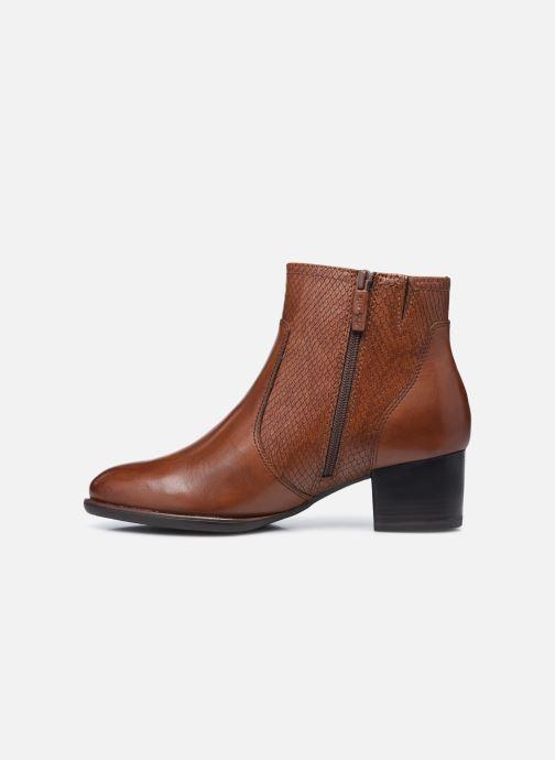 Stiefeletten & Boots Tamaris Ranya braun ansicht von vorne