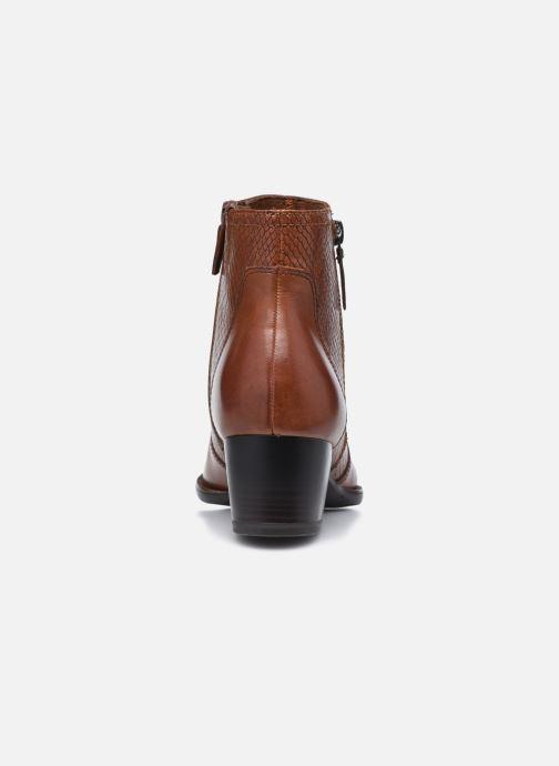 Stiefeletten & Boots Tamaris Ranya braun ansicht von rechts