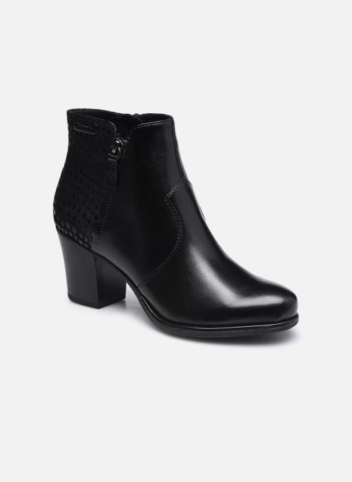 Boots en enkellaarsjes Tamaris Billie Zwart detail