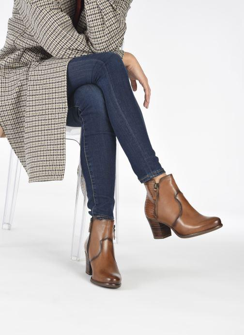 Bottines et boots Tamaris Billie Marron vue bas / vue portée sac
