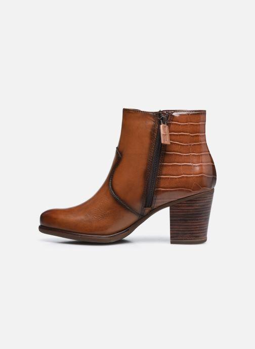 Bottines et boots Tamaris Billie Marron vue face