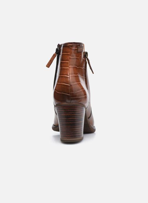 Bottines et boots Tamaris Billie Marron vue droite