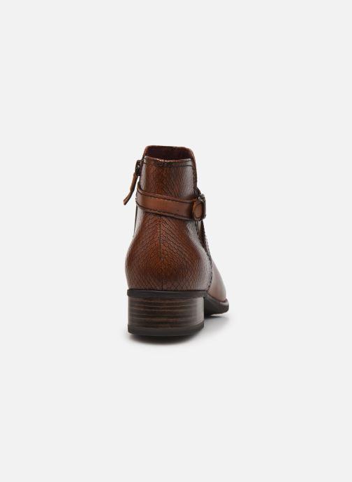 Bottines et boots Tamaris Maureen Marron vue droite