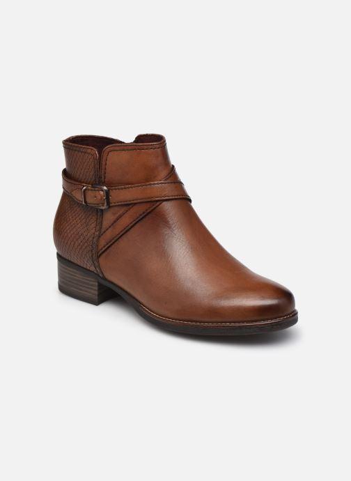 Bottines et boots Tamaris Maureen Marron vue détail/paire