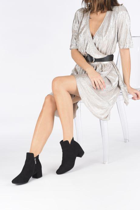 Bottines et boots Tamaris Maayan Noir vue bas / vue portée sac