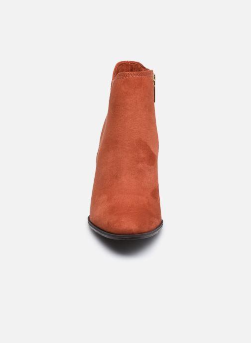 Bottines et boots Tamaris Mindy Rouge vue portées chaussures