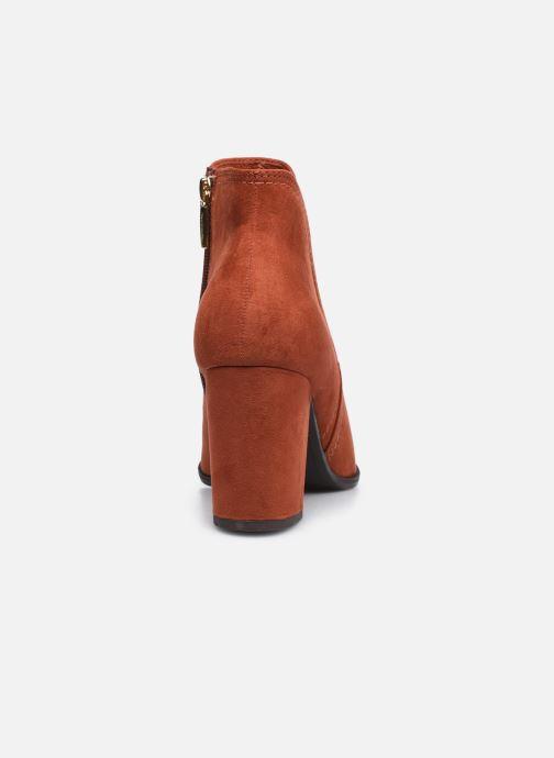 Bottines et boots Tamaris Mindy Rouge vue droite